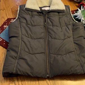 Puffer-Sherpa vest